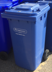 harrow confidential waste service bins