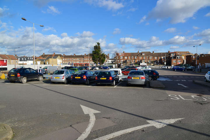 Greenhill Way Harrow Car Park